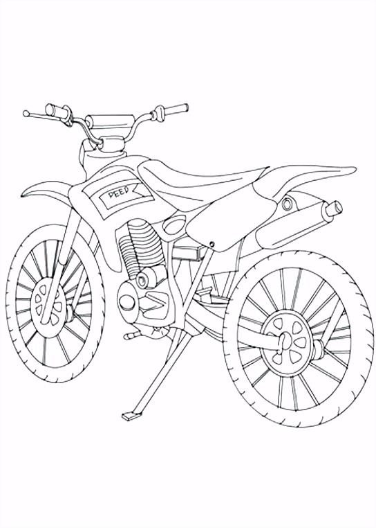 Motorfiets Kleurplaten Motor Kleurplaten Motorfiets – wakashiragafo