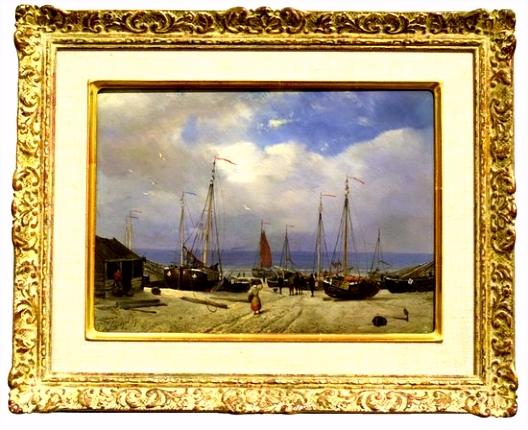 """Het oude visserscafé """"de halve vleet Picture of Muzee Scheveningen"""