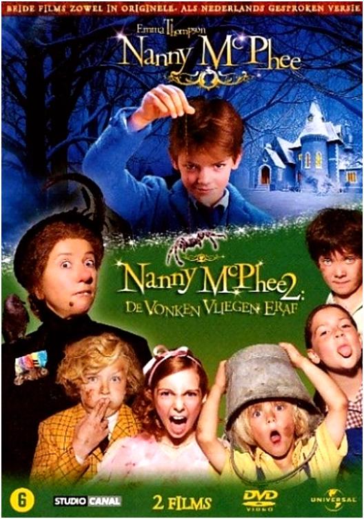 bol NANNY MCPHEE 1 2 BOXSET D Dvd Kelly Macdonald
