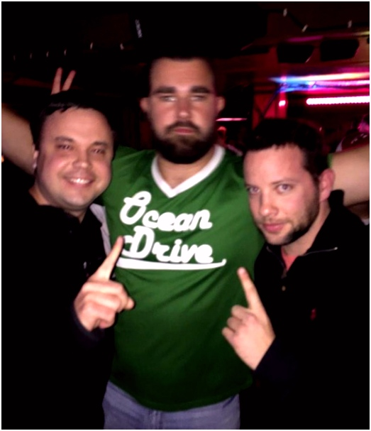 A Pictorial Everyman Jason Kelce Was in Sea Isle for the Polar