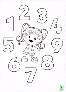 Umizoomi coloring pages on Coloring Bookfo