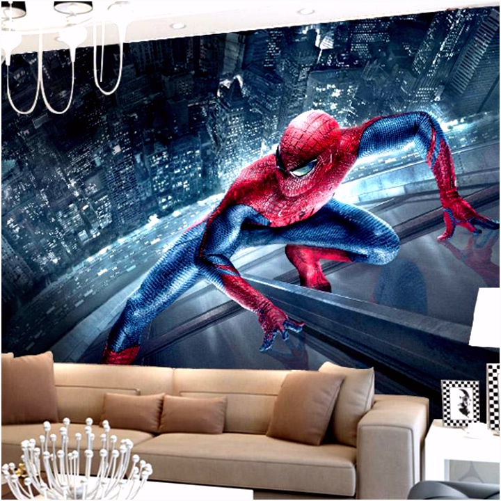 Großhandel Marvel Spiderman Kinder Jungen Kinder Fototapete
