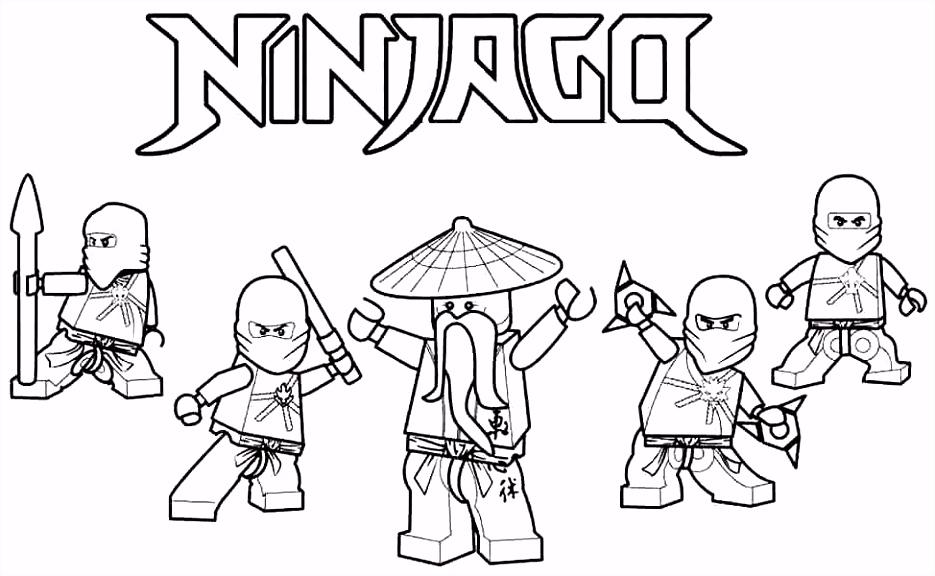 Ninjago Kleurplaten Van Jay Lego Ninjago Kleurplaten Lloyd