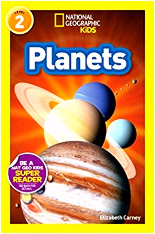 National Geographic Readers Planets Elizabeth Carney