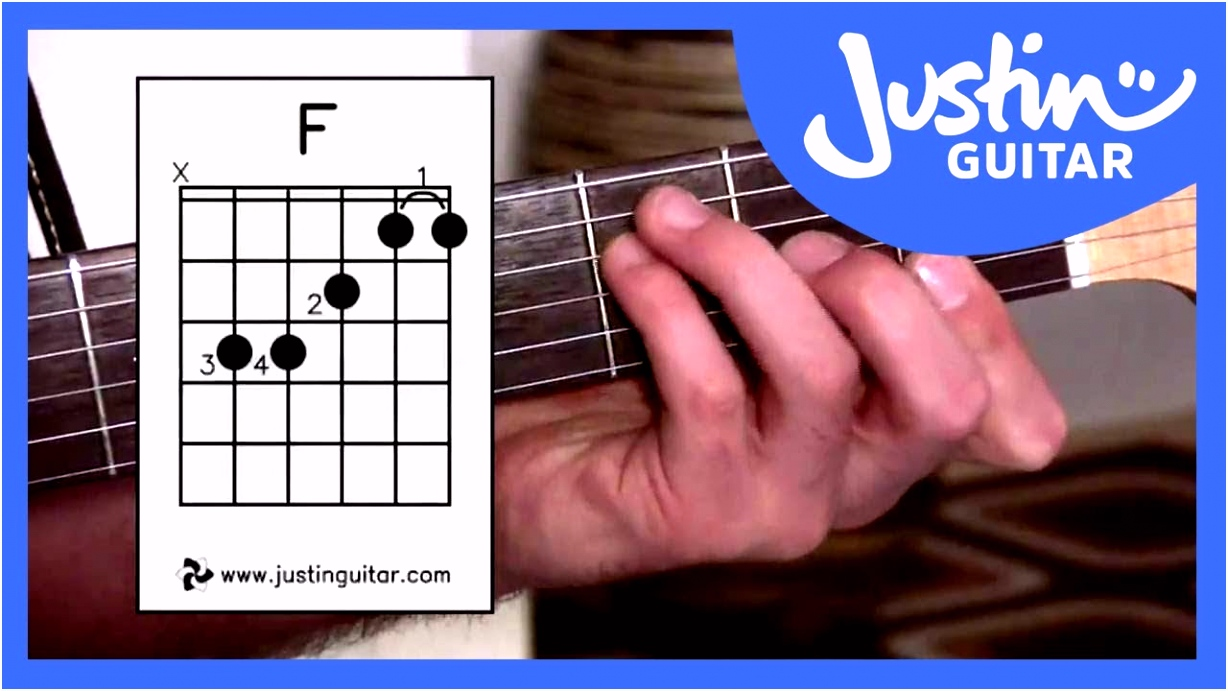 3 Ways of Playing F Chord Guitar Lesson Guitar for Beginners