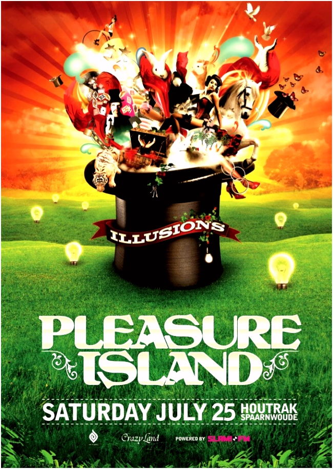 bezoekers · Pleasure Island · 25 juli 2009 Spaarnwoude Deelplan