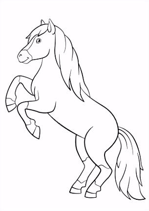 Kleurplaat Paard Kleurplaat Het Paard Van Sinterklaas – noumanfo