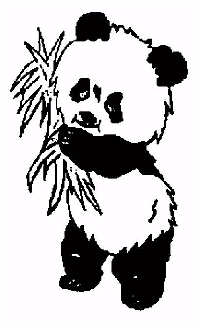Gratis Panda Beer Kleurplaten voor Kinderen 6