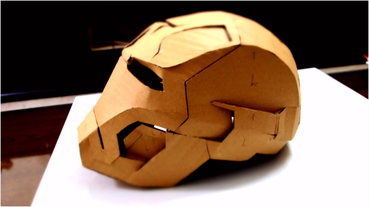 Parachuutje Knutselen 28 Iron Man Mark 42 Helmet Part 2 Jaw top Back & Ears G3ya66kew8 S5tqs6ifim