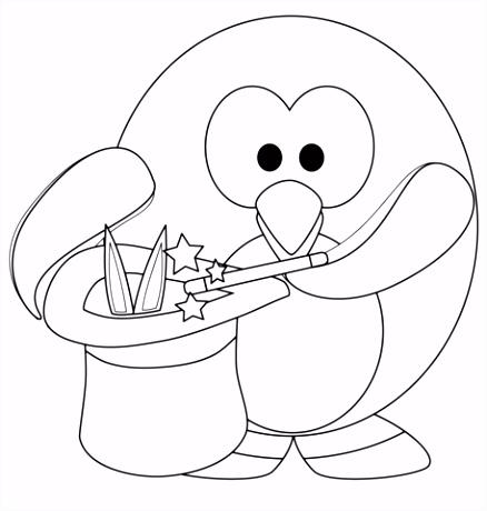 Pinguin Kleurplaten Magische Pingu¯n Kleurplaat Z7yf83bgd1 Omvv4soxf6