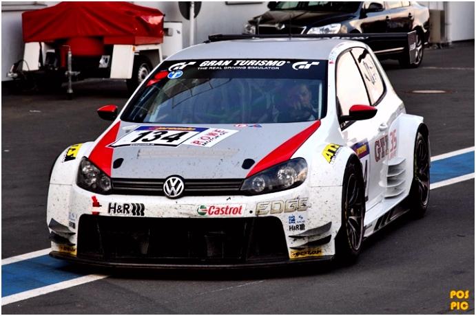 Galerie Kategorie VLN 2 Lauf Bild VW Golf GT 24 Volkswagen