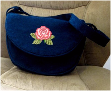 Free Sewing Pattern for a Saddlebag Style Purse Sew Your Own Handbag