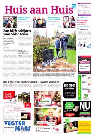 Huis aan Huis week50 by Wegener issuu