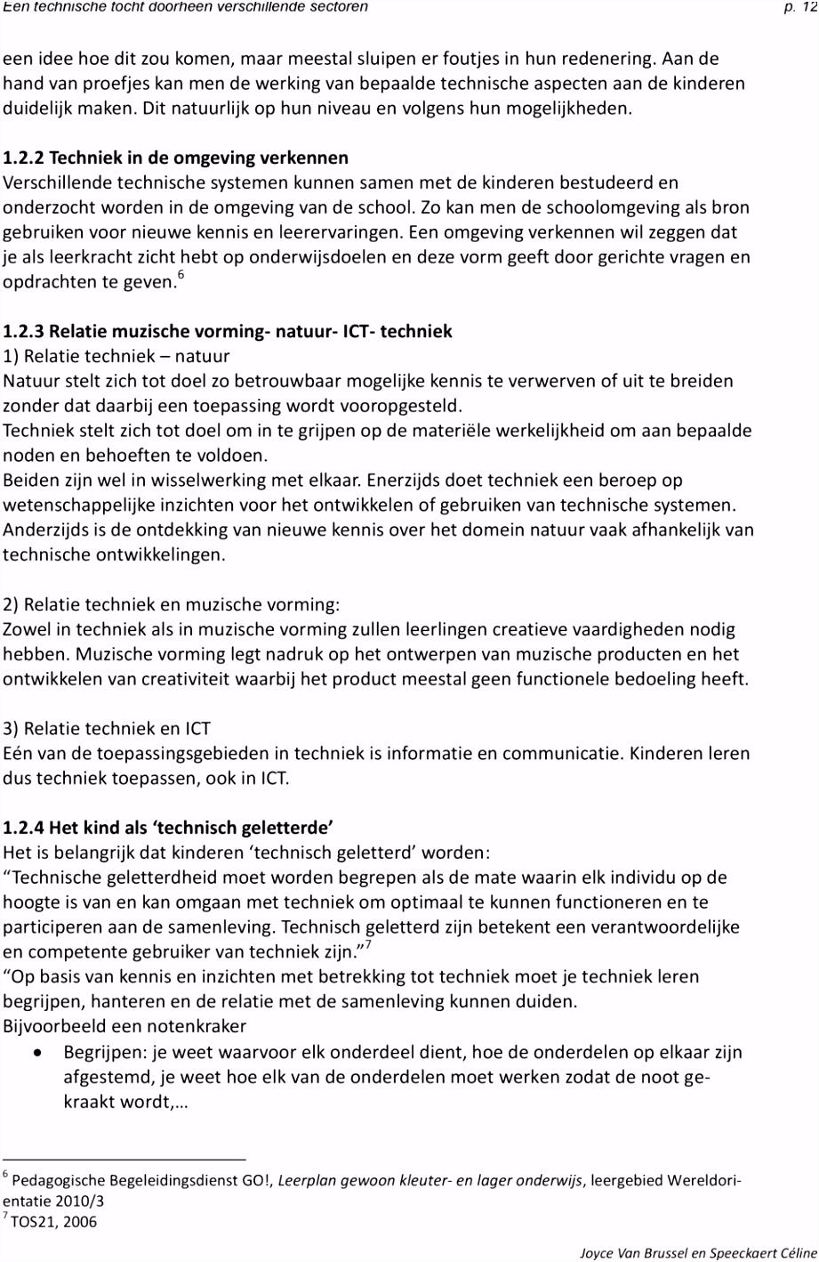 EEN TECHNISCHE TOCHT DOORHEEN VERSCHILLENDE SECTOREN PDF
