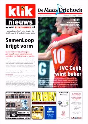 Nieuwsblad De Maas Driehoek ed md week 21 2015 by Uitgeverij Talvi