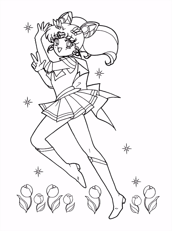 Sailor Moon Kleurplaten