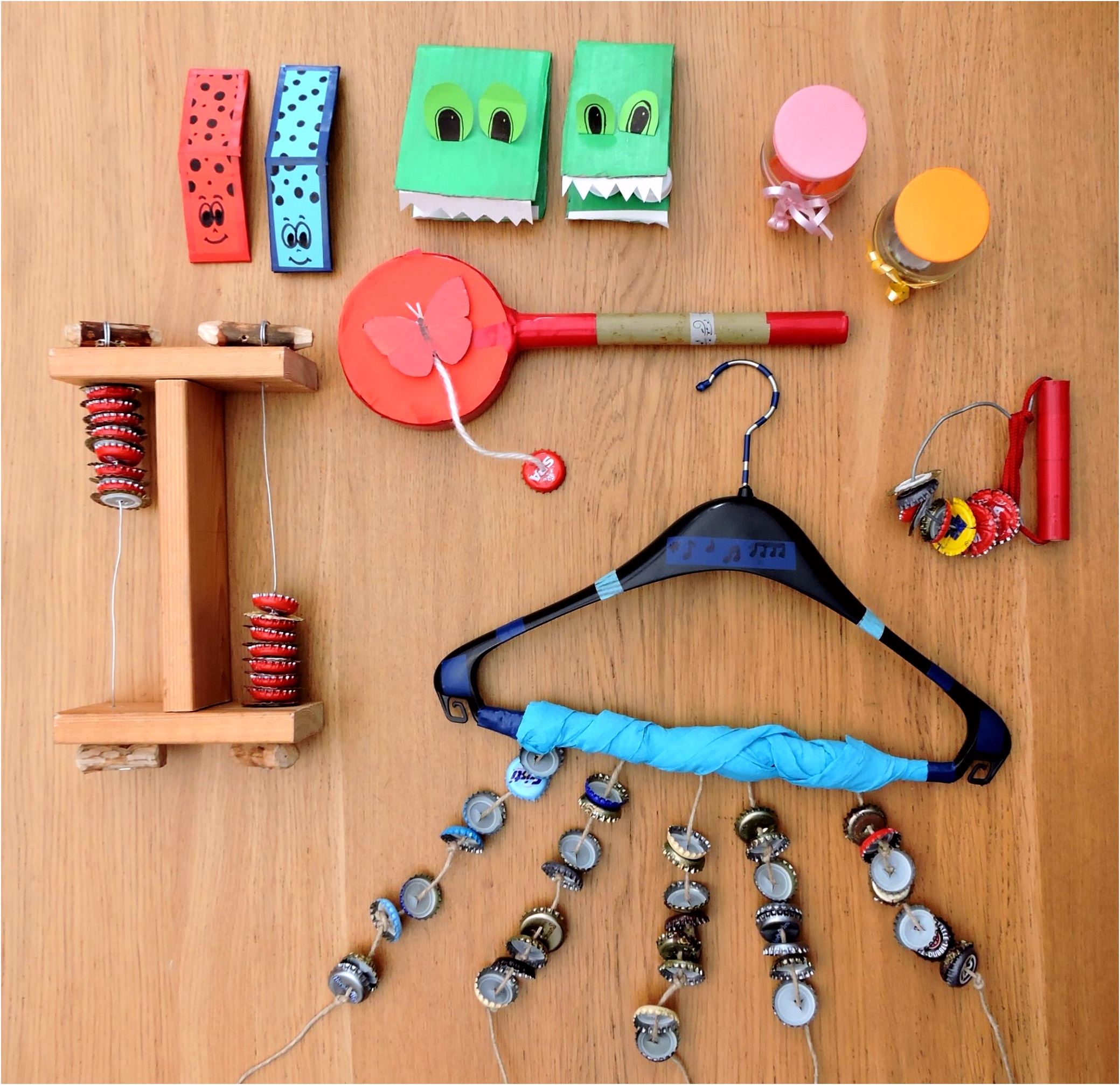 DIY muziekinstrumenten BALO
