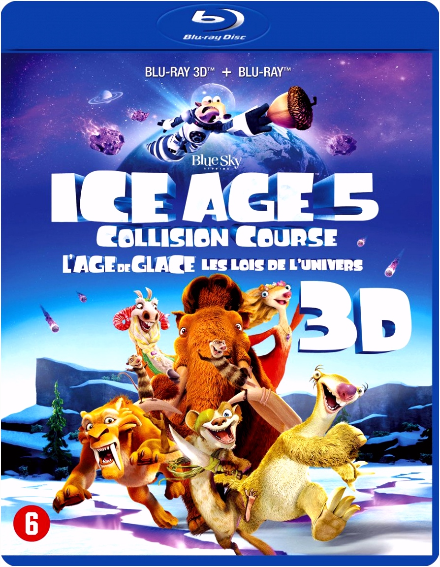 bol Ice Age Collision Course 3D Blu ray