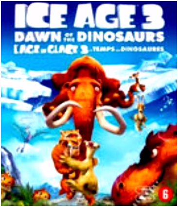 Ice Age 3 Dawn of the Dinosaurs Blu ray Allesoverfilm