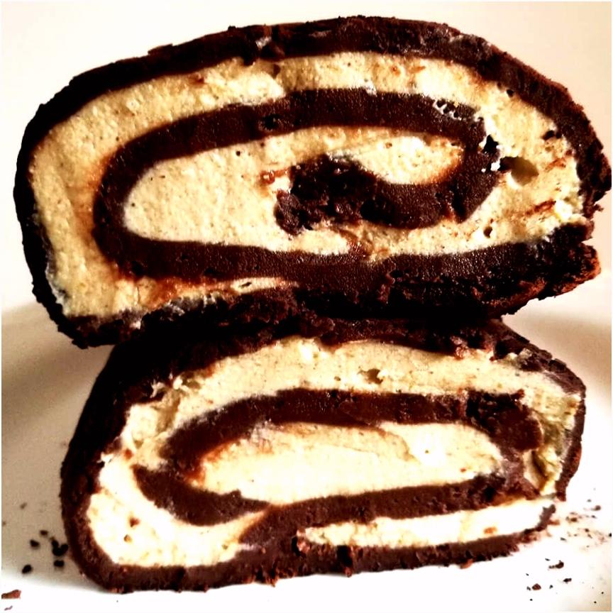 Przepis na wegańskie i bezglutenowe ciasto Ferrero Rocher bez