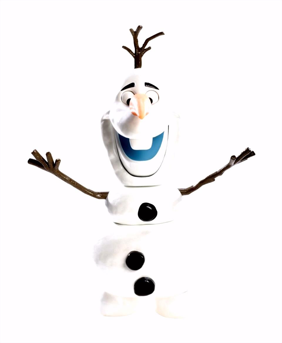Frozen Olaf de Sneeuwpop