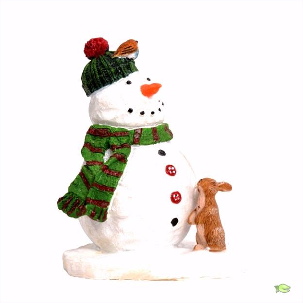 Melty de sneeuwpop 5 5x4 5x7 cm