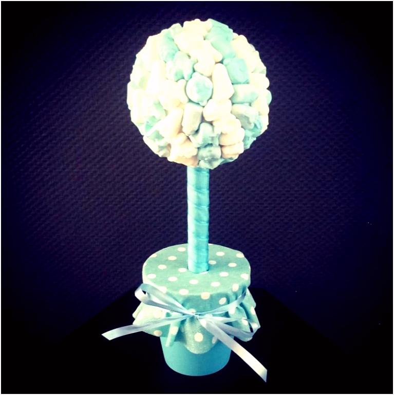 Snoepboom baby schuimpjes blauw Snoepboompjes