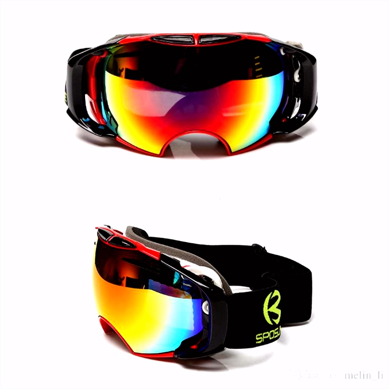 line Cheap Snowboard Ski Goggles Anti Fog Double Lens Ski Glasses
