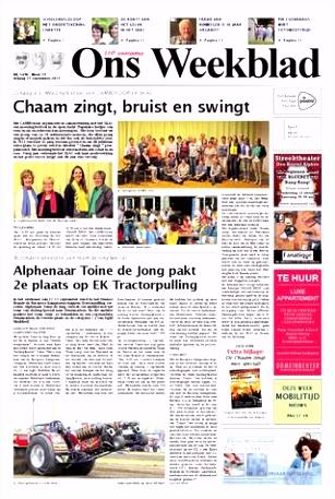 s Weekblad 25 09 2015 by Uitgeverij Em de Jong issuu