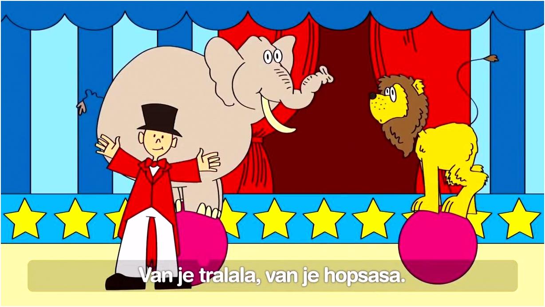 Nederlandstalige kinderliedjes met tekst Deel 1 27 minuten