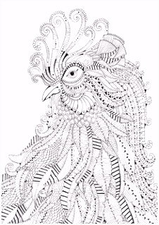 The 68 best Black and White Animal Colouring Pages images on