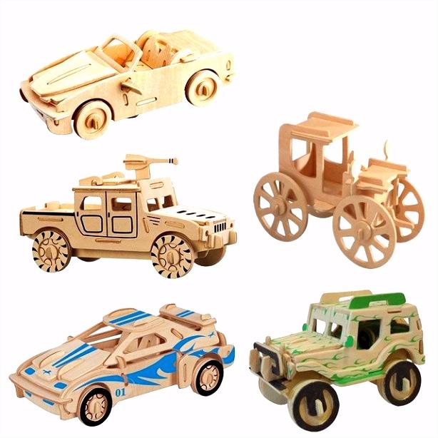 3d puzzel houten puzzel speelgoed model building auto diy vergadering iq educatief kinderen houtbewerking handgemaakte speelgoed kid adult game in 3d