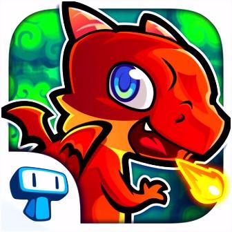 Dragon Tale Gratis Spel met Draak App voor iPhone iPad en iPod