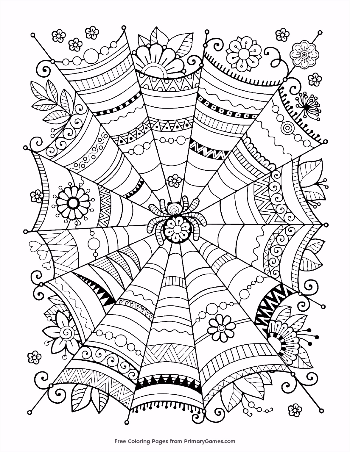 Coloring Web