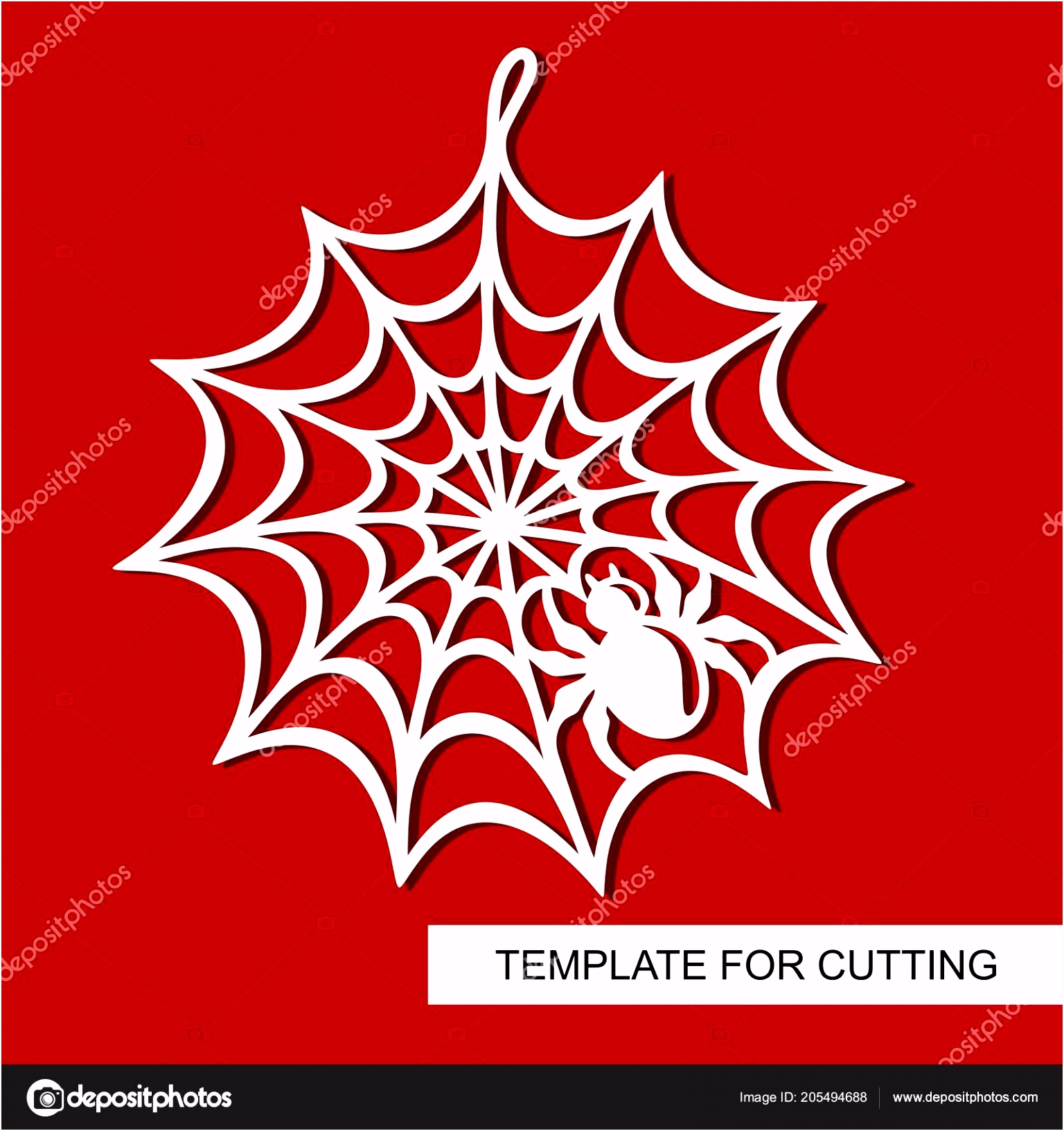 Decoration Halloween Spiderweb Template Laser Cutting Wood Carving