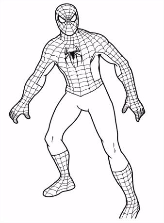 Gratis Kleurplaten Spiderman.6 Spiderman Kleurplaten Sampletemplatex1234 Sampletemplatex1234