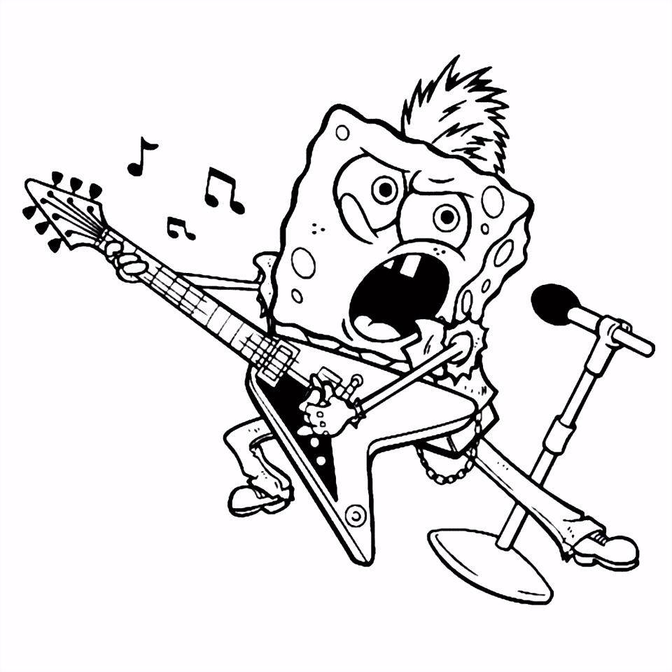 Leuk voor kids – Spongebob als rockster