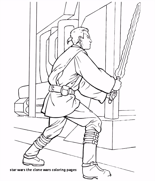 24 Star Wars the Clone Wars Coloring Pages