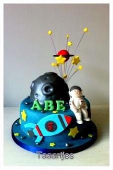29 beste afbeeldingen van Cake from space Rocket cake Birthday