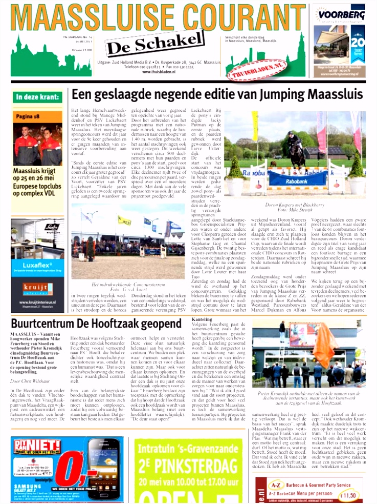 Maassluise Courant week 20