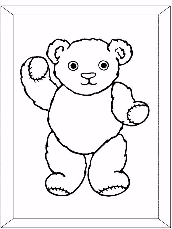 Teddybeer Kleurplaat En Beer Kleurplaat Beer Hartje – quadeofo