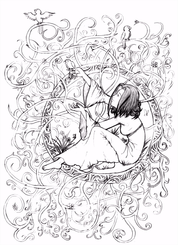 Pagan Adult Colouring Pages 2 coloring Pinterest
