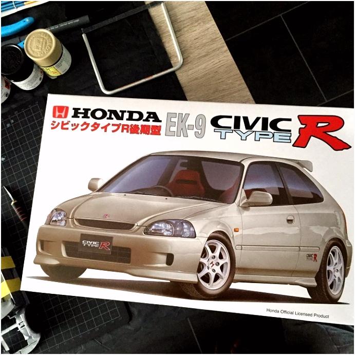 Modelbrouwers modelbouw • Toon onderwerp Honda civic ek9