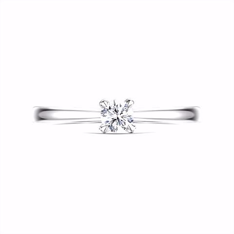 Diamond Engagement Rings in Platinum & Gold