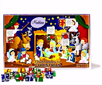 Amazon Madelaine Chocolate Countdown to Christmas Advent