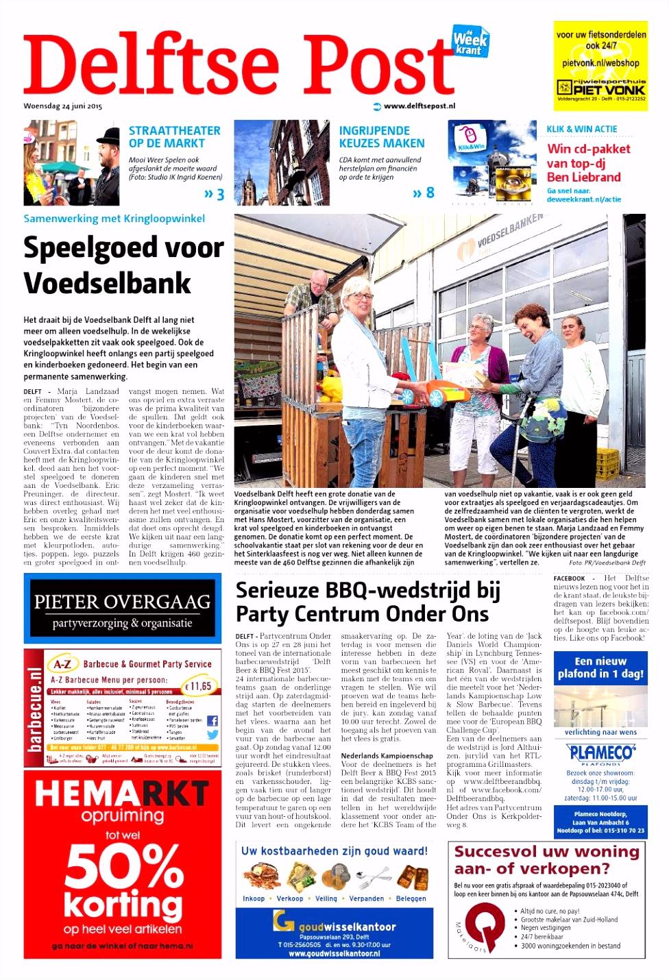 Delftse Post week26 by Wegener issuu