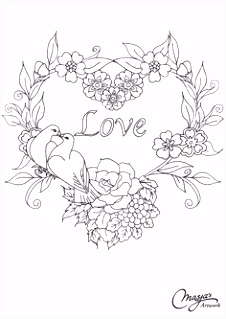 639 best hearts coloring images on Pinterest in 2018