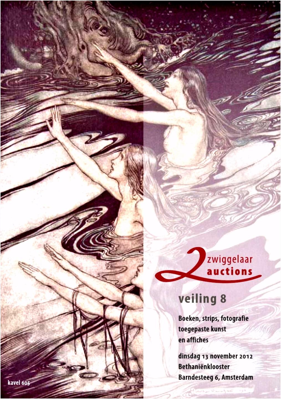 Catalogus Boeken Veiling 8 Zwiggelaar Auctions by Vincent