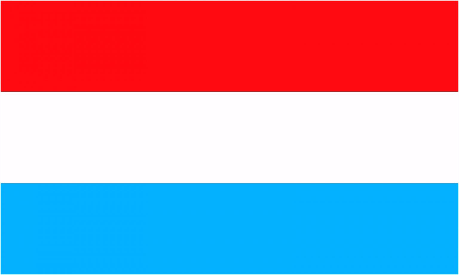 Luxemburg Vlaggenparade