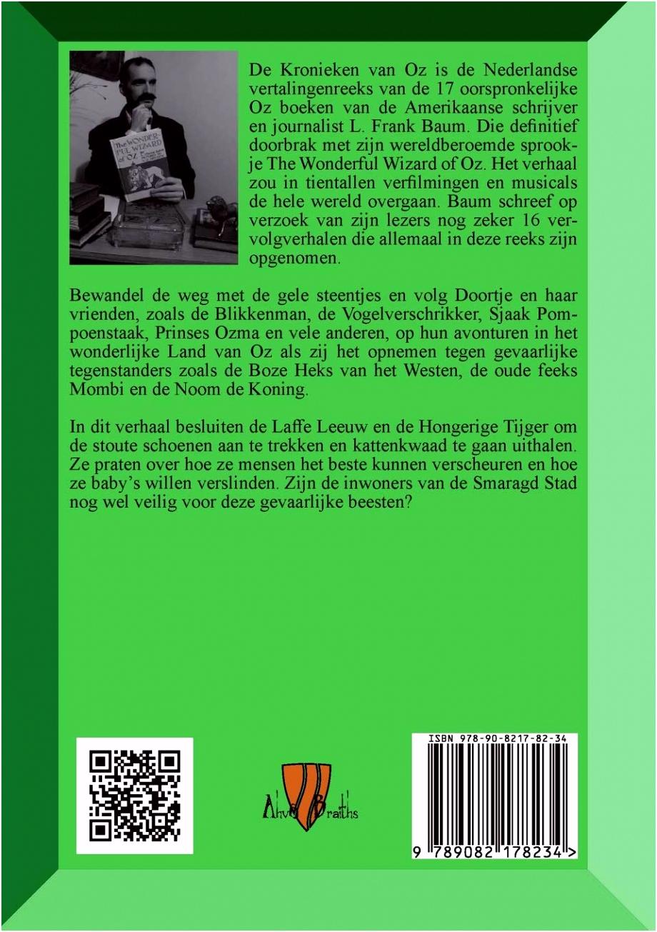 De Laffe Leeuw en de Hongerige Tijger verhaaltjes uit Oz de Laffe